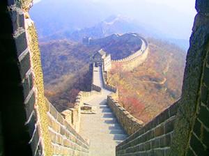 Die Chinesische Mauer in China ist eines der neuen 7 Weltwunder