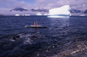Michael Vogeley beim Kanu fahren - ein Erlebnis, dass man sich nicht entgehen lassen sollte © Michael Vogeley