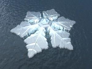 Das schwimmende The Krystall Hotel  © Architect Koen Olthuis – Waterstudio.NL; Developer Dutch Docklands